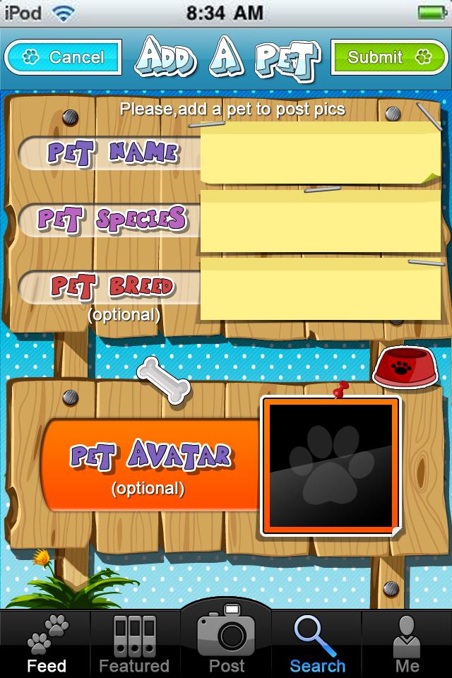 add a pet2_F